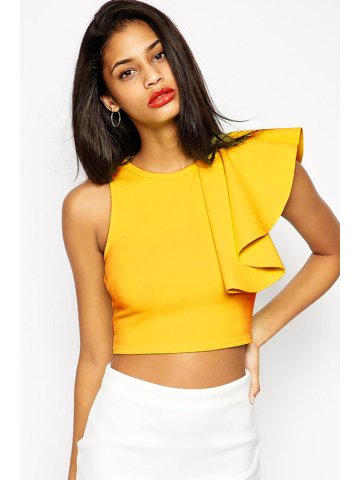 https://static3.cilory.com/116945-thickbox_default/yellow-one-shoulder-ruffle-crop-top.jpg