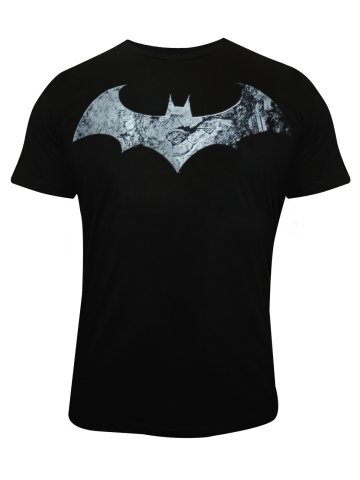 Batman Black Round Neck T Shirt at cilory