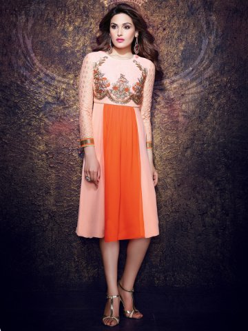 https://static1.cilory.com/142632-thickbox_default/kaseri-light-pink-yellow-georgette-readymade-kurti.jpg