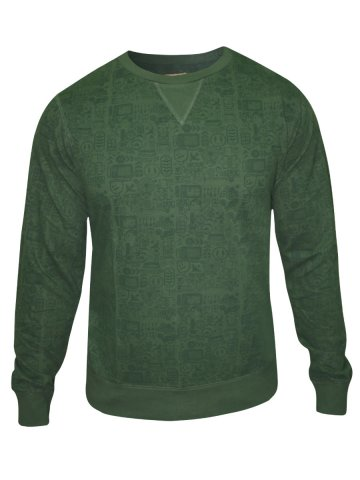 Peter England Men's Sweat Shirt at cilory