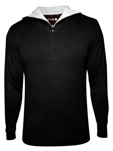 Spykar Black Sweater at cilory