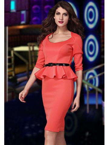 https://static5.cilory.com/169609-thickbox_default/red-long-sleeve-belted-peplum-midi-dress.jpg