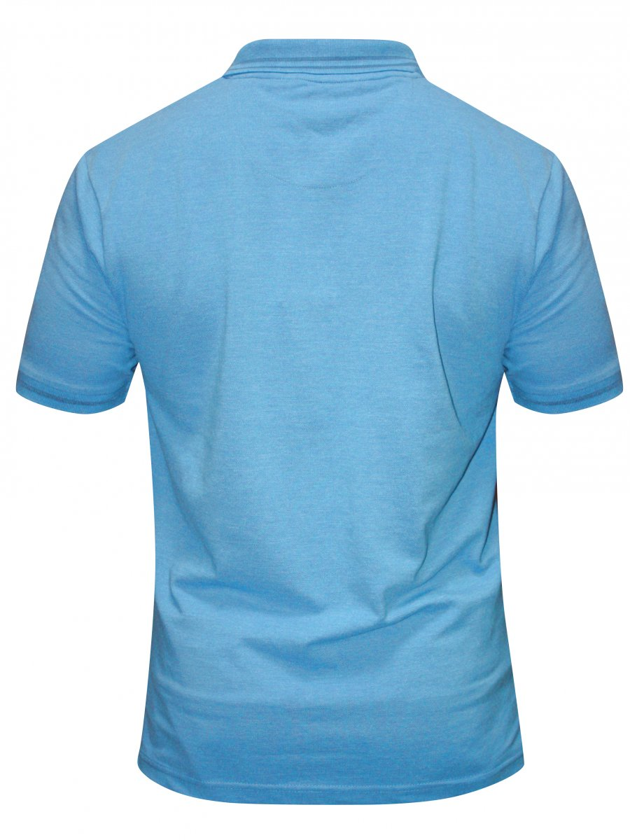 Buy T Shirts Online Red Tape Sky Blue Polo T Shirt