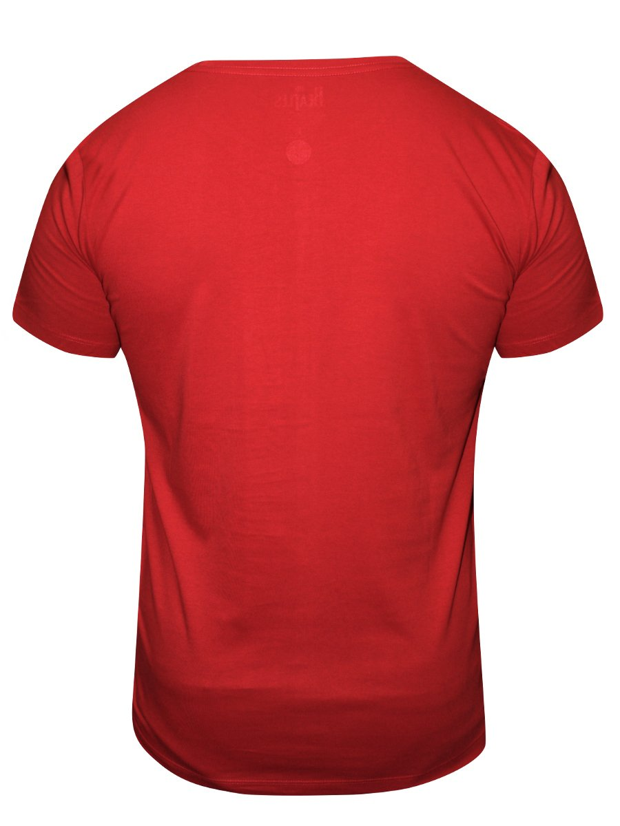 Buy T Shirts Online The Beatles Red Round Neck T Shirt
