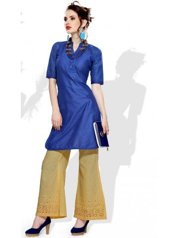 https://d38jde2cfwaolo.cloudfront.net/200226-thickbox_default/lakhnawi-royal-blue-cotton-kurti.jpg