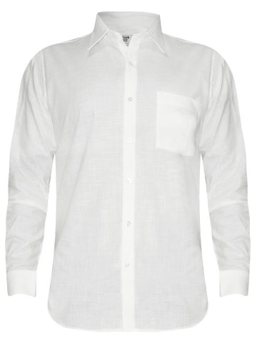 Turtle Pure Cotton White Shirt at cilory
