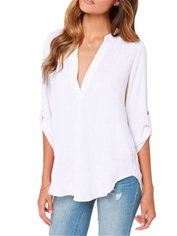 https://static6.cilory.com/207284-thickbox_default/white-v-neck-loose-fitting-blouse.jpg