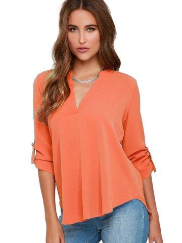https://static6.cilory.com/207290-thickbox_default/orange-v-neck-loose-fitting-blouse.jpg