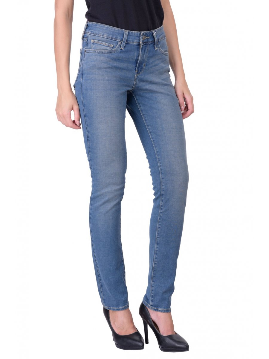 levis 711 blue skinny women jeans 21306 0103. Black Bedroom Furniture Sets. Home Design Ideas