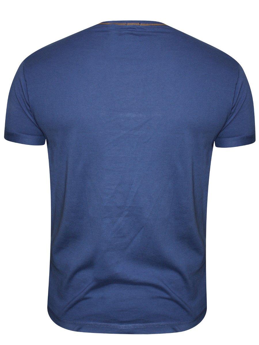 buy t shirts online pepe jeans blue round neck t shirt. Black Bedroom Furniture Sets. Home Design Ideas