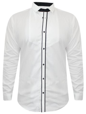 Arrow White Partywear Shirt at cilory