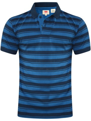 Levis Blue Polo T-Shirt at cilory
