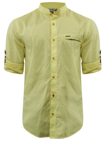 75333827daf1  Peter England Pure Cotton Yellow Shirt.  https   static1.cilory.com 250524-thickbox default peter-
