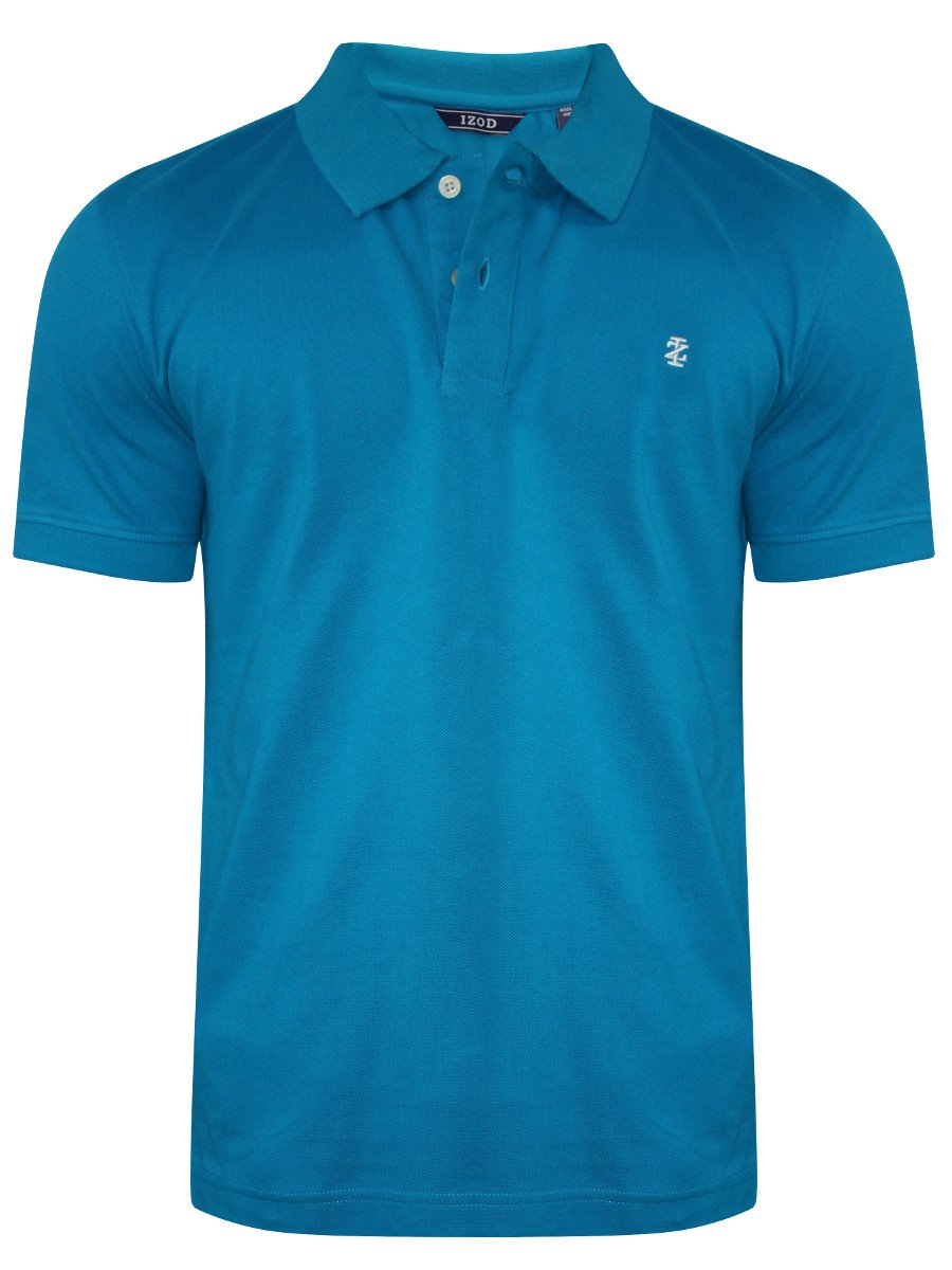 Buy t shirts online izod crisp blue polo t shirt for Izod shirt size chart