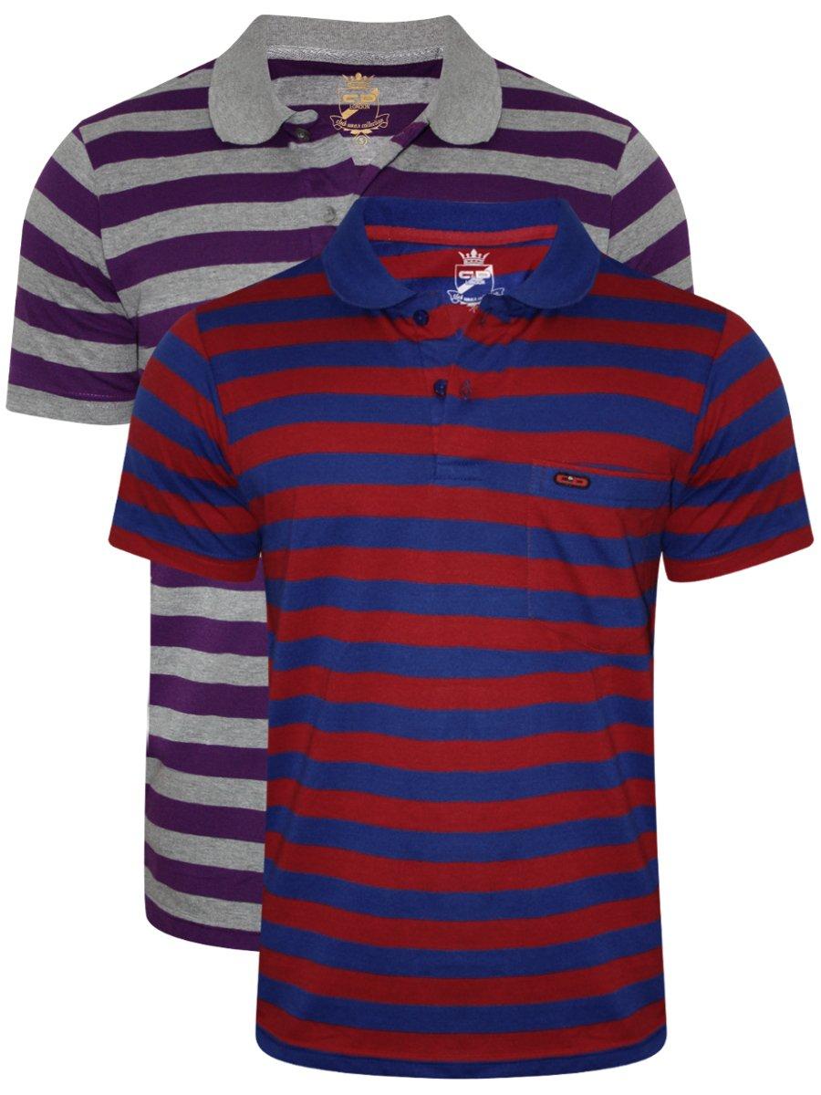 cb50965688e5b8 Monte Carlo C&d Pocket Polo T-shirt (pack Of 2)   6170610141-1 ...