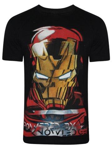 953f8439 >Iron Man Black Round Neck T- Shirt.  https://static1.cilory.com/273692-thickbox_default/iron- View full size