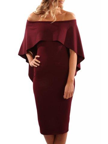 578fa8d94d0c ... Off Shoulder Batwing Cape Midi Dress.  https   static8.cilory.com 277987-thickbox default wine-
