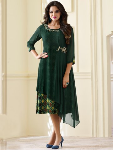 https://static4.cilory.com/291723-thickbox_default/nitya-bottle-green-double-layered-kurti-with-printed-inner.jpg