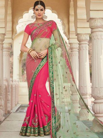 https://static6.cilory.com/312152-thickbox_default/heroine-pink-light-green-heavy-work-saree.jpg
