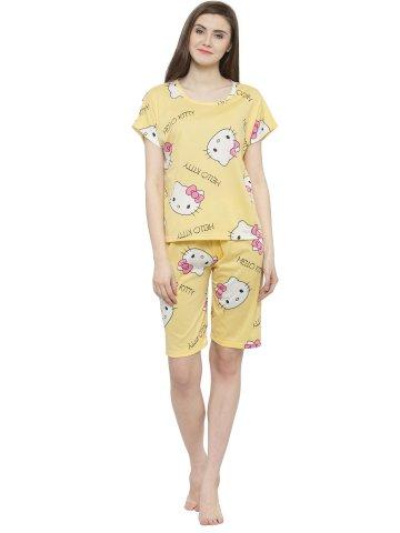 https://static6.cilory.com/334299-thickbox_default/yellow-printed-nightwear-top-and-3-4-pyjama-loungewear-set.jpg