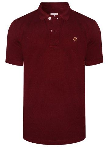 ... Maroon Polo T-Shirt. https://static.cilory.com/335337-thickbox_default/ uni-