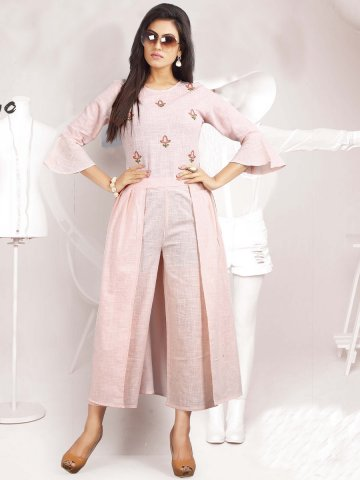 https://static9.cilory.com/363140-thickbox_default/girly-light-pink-cotton-kurti-with-bottom.jpg