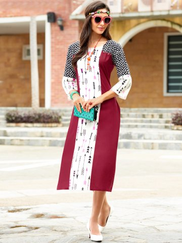 https://static2.cilory.com/364465-thickbox_default/essential-maroon-white-printed-kurti.jpg