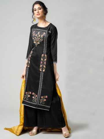 https://static8.cilory.com/374060-thickbox_default/black-semi-stitched-embroidered-suit-with-jacquard-dupatta.jpg