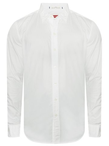 Levis Pure Cotton White Shirt at cilory