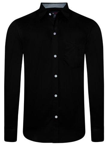 b4b91480 >NoLogo Pure Cotton Black Shirt.  https://static5.cilory.com/382272-thickbox_default/nologo-