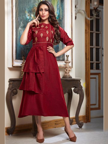 https://static4.cilory.com/383499-thickbox_default/maroon-layered-embroidered-kurti.jpg