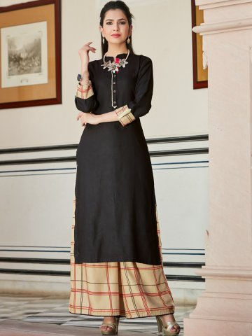 https://static5.cilory.com/390856-thickbox_default/kajal-black-kurti-with-palazzo.jpg