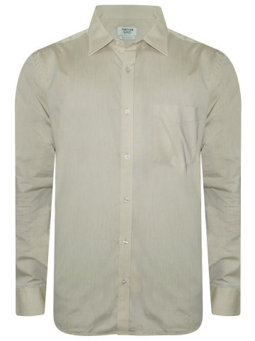 Turtle Pure Cotton Cream Shirt at cilory