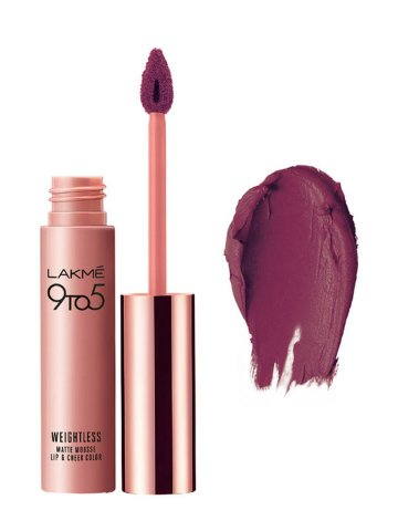https://static7.cilory.com/400421-thickbox_default/lakme-9-to-5-weightless-matte-mousse-lip-cheek-color.jpg