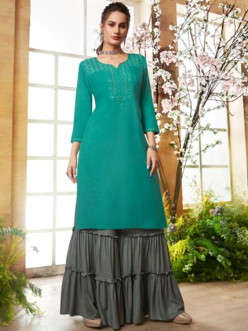 https://static9.cilory.com/406535-thickbox_default/kajree-rayon-embroidered-kurta-with-sharara.jpg