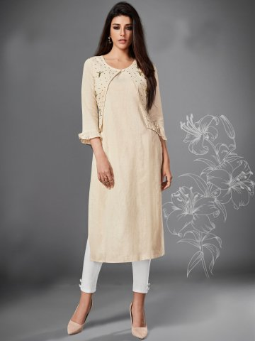 https://static1.cilory.com/407555-thickbox_default/off-white-side-slit-cotton-kurta.jpg