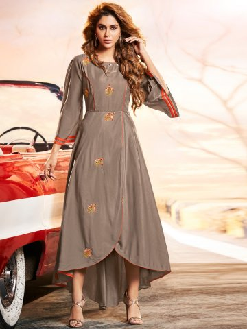 https://static2.cilory.com/408556-thickbox_default/arihant-brown-high-low-kurti.jpg